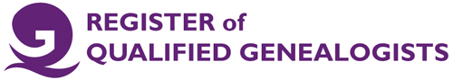 Register of Qualified Genealogists logo