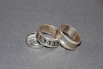 Image of three wedding rings