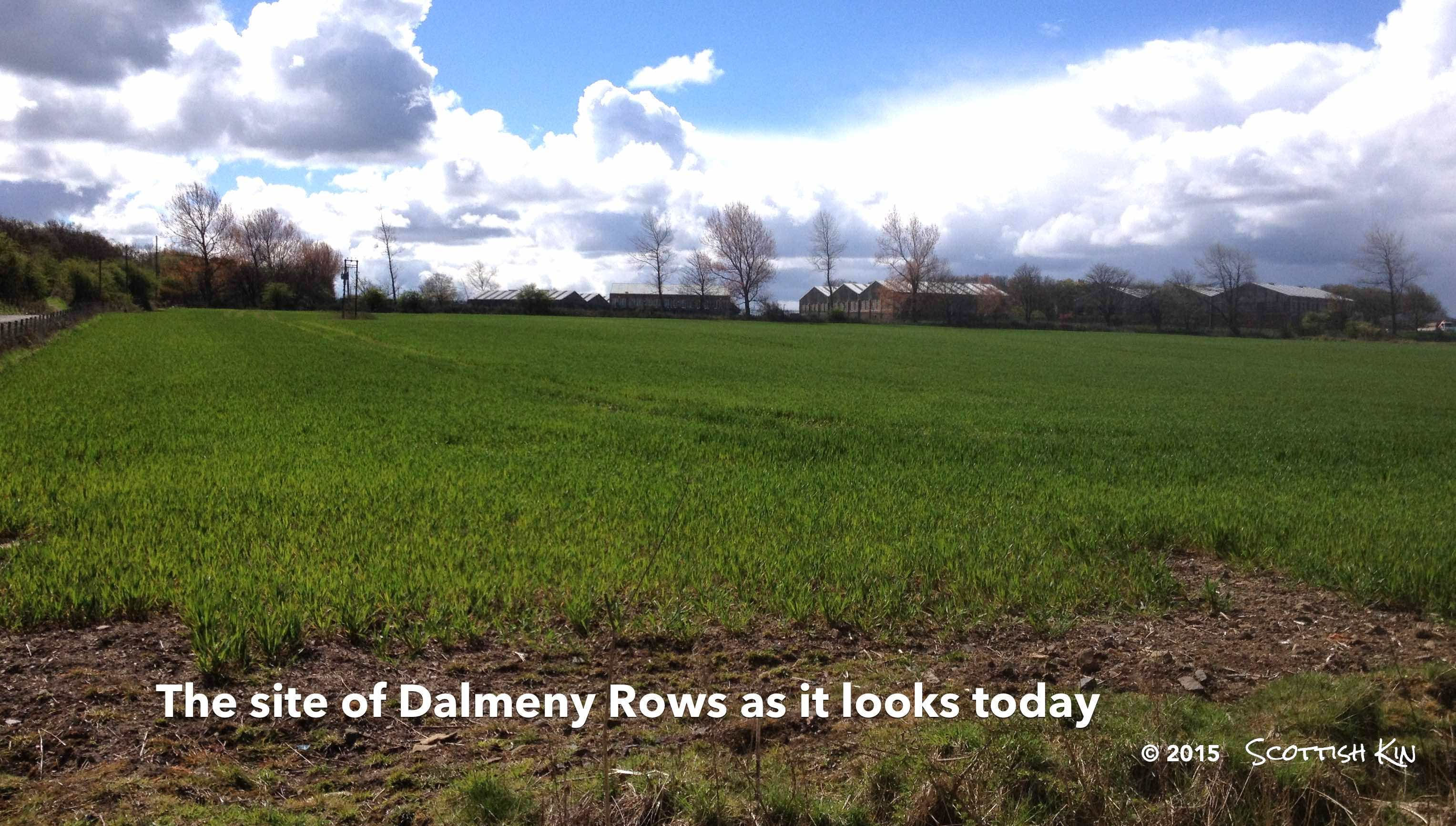 Dalmeny Rows today